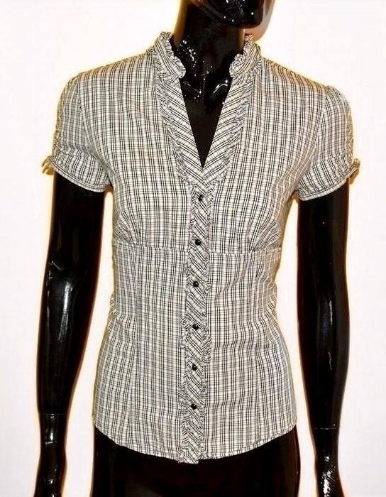 elegancka koszula krótki rękaw