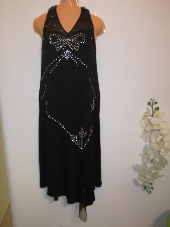 Asymetryczna suknia sukienka rozmiar 42 OASIS