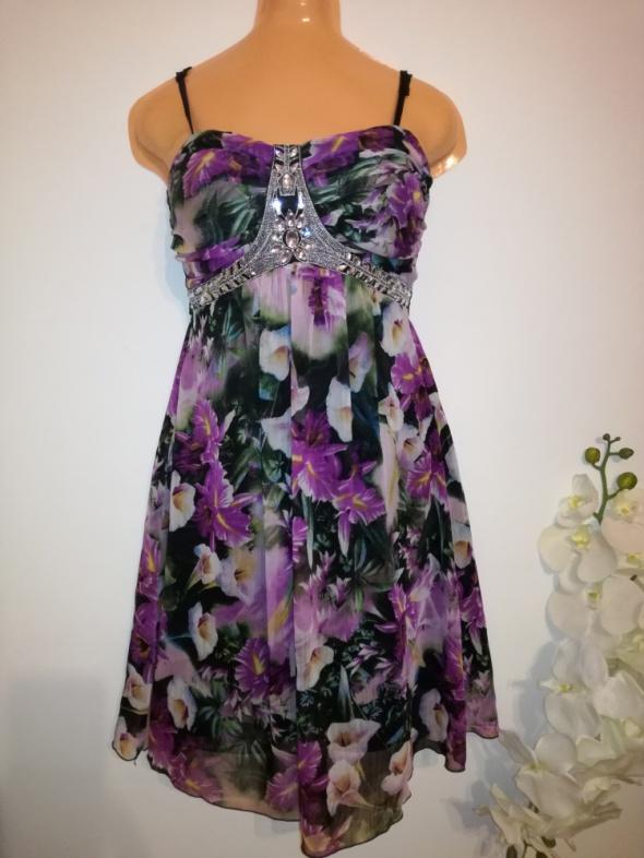 Zwiewna sukienka FLOYD rozmiar 36