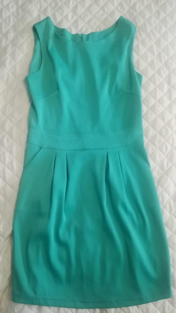 Miętowa sukienka rozmiar 36 małe 38