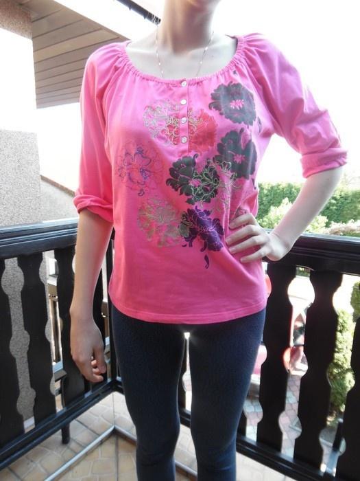 Bluzka różowa rozmiar 44 46