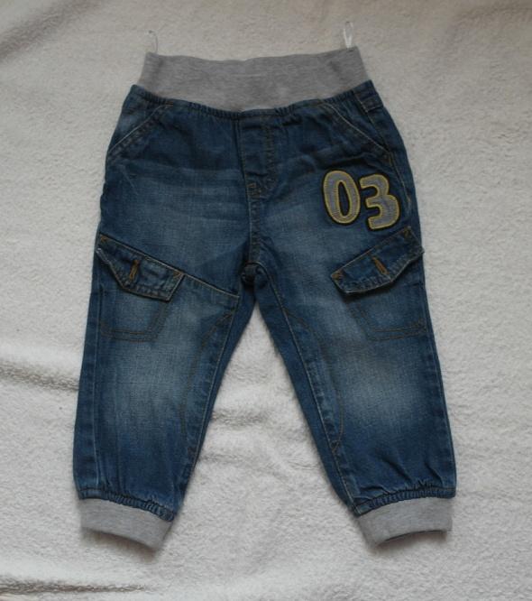 Spodnie dzinsowe Baby Club 86