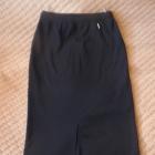 Czarna spódnica ala dresowa 40 42