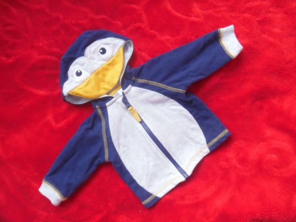 Bluza kaczorek dla chłopca 0 do 3 m