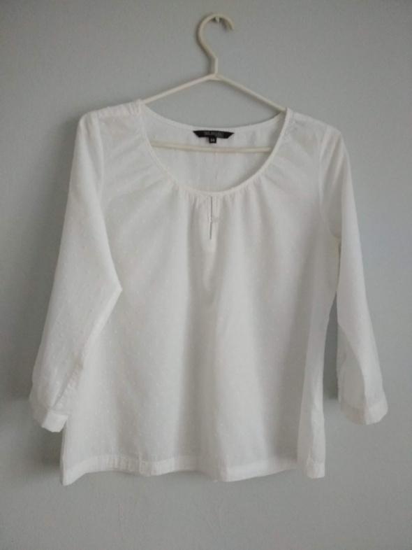 biała bluzeczka boho...