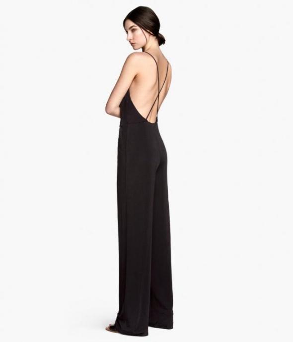 HM nowy czarny kombinezon elegancki na ramiączkach