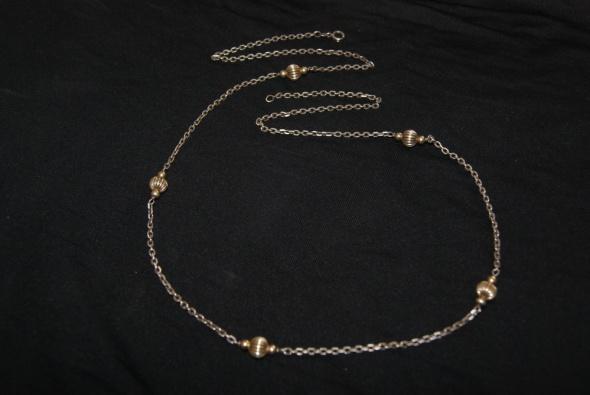 Stary srebrny naszyjnik