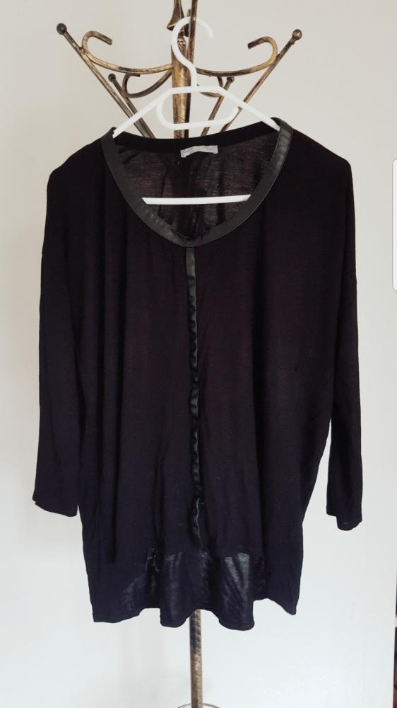 Czarna bluzka Zara...