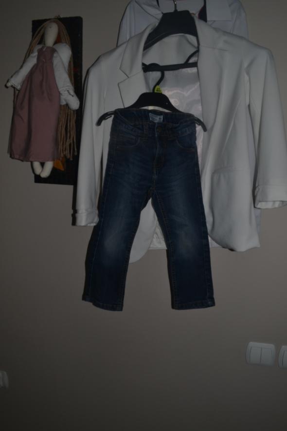 Reserved spodnie jeansowe 2 3 lata 98cm