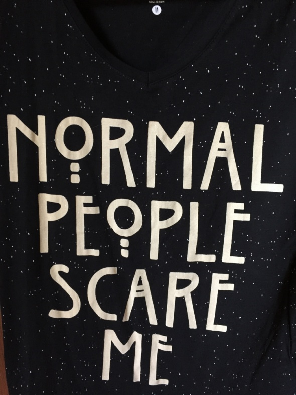 AHS koszulka Normal People Scare Me