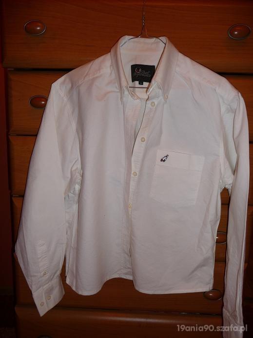 Bluzka koszulowa biała