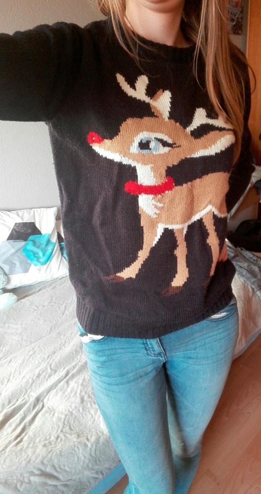 Sweter swiateczny renifer...