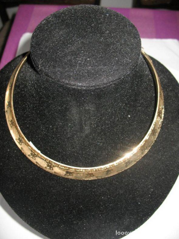 Naszyjnik choker nowy złoty