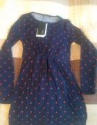 Sukienka z groszki...
