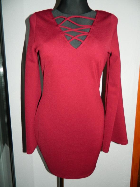 AX Paris dopasowana sexy sukienka roz L...