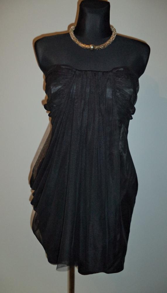 Sukienka gorsetowa czarna
