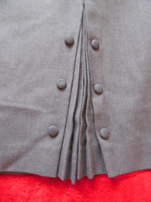 Spódnice Klasyczna popielata midi 42