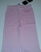 Różowe legginsy...