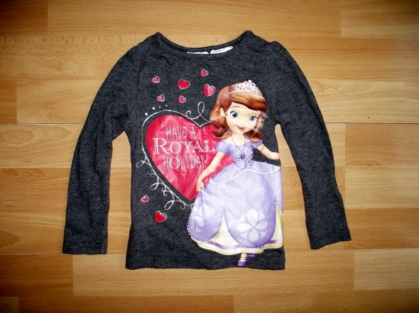 H&M DISNEY tunika bluzka 92 lat 15 do 2
