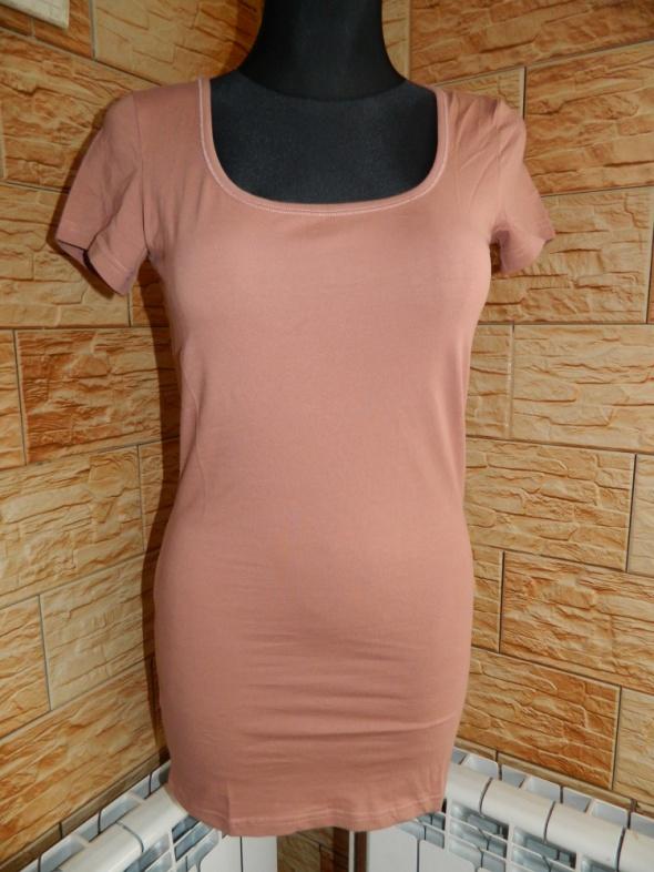 Vero Moda bluzka tunika roz M