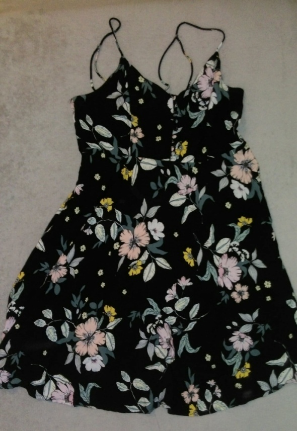 Sukienka w kwiaty...