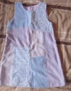 Fajna sukienka r 122...