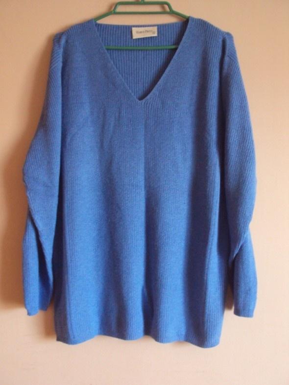 niebieski sweter Marco Pecci XL