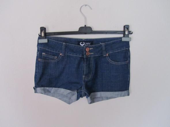 jeansowe spodenki szorty