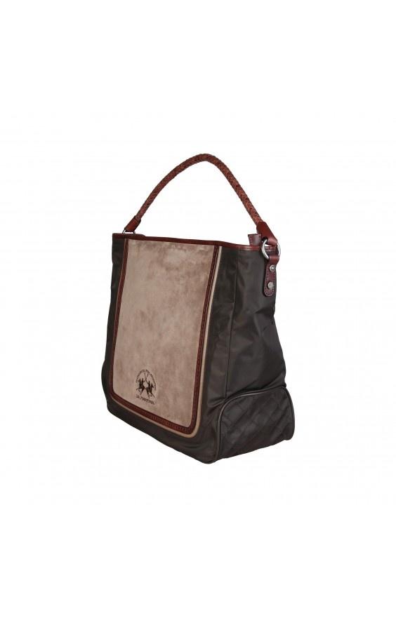 Torba Shopper Bag La Martina DKBROWN