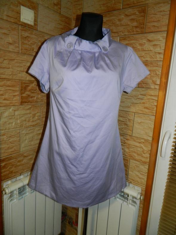 VILA sukienka trapezowa FIOLET roz XL