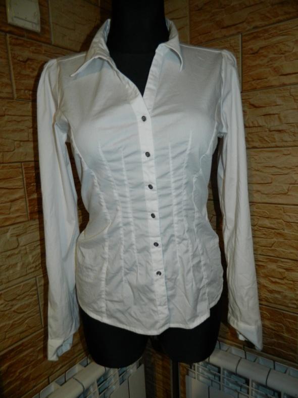 VILA biała koszula długi rękaw roz L