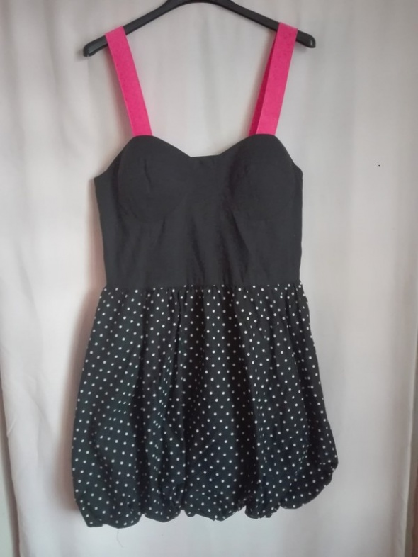 Sukienka w grochy George XXL...