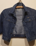 Krótka jeansowa kurtka Versace...