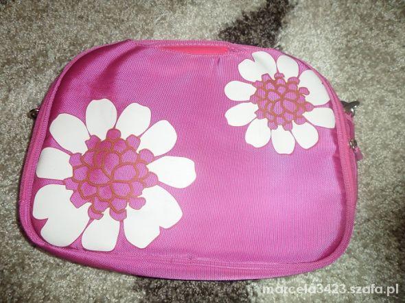 Na laptopa Torba na latopa mini w kwiatki