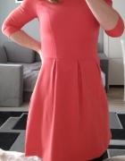 Koralowa sukienka house xs