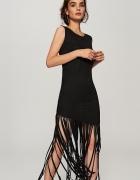 sukienka z fędzlami RESERVED