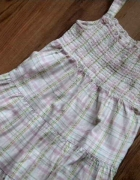 sukienka rozmiar 98 firma mothercare w kratkę...