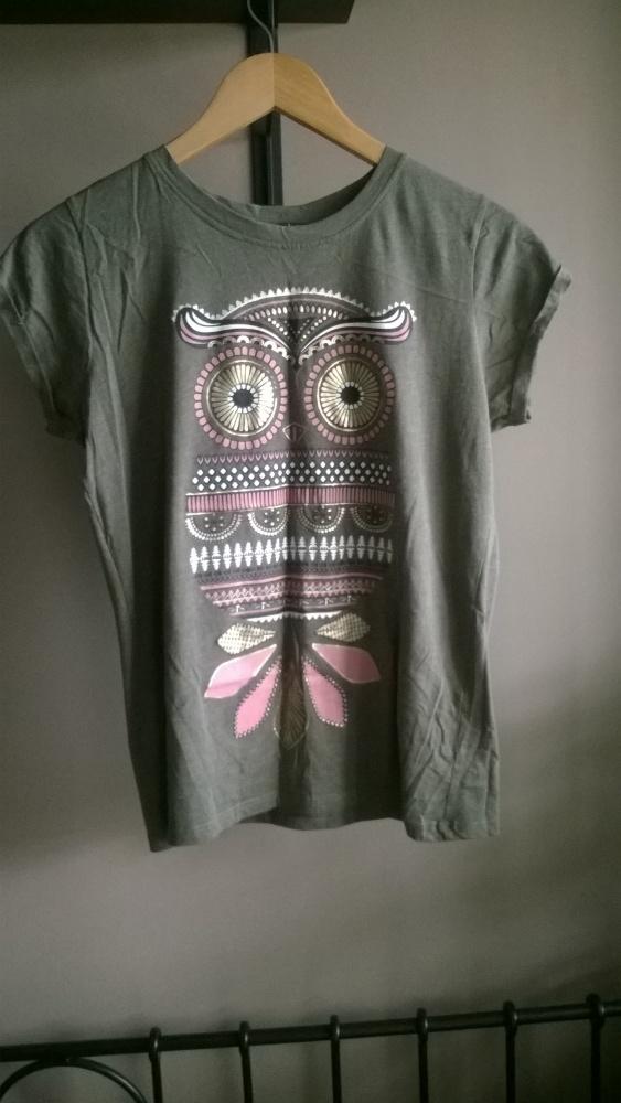 Koszulka sowa new yorker bawełniana...