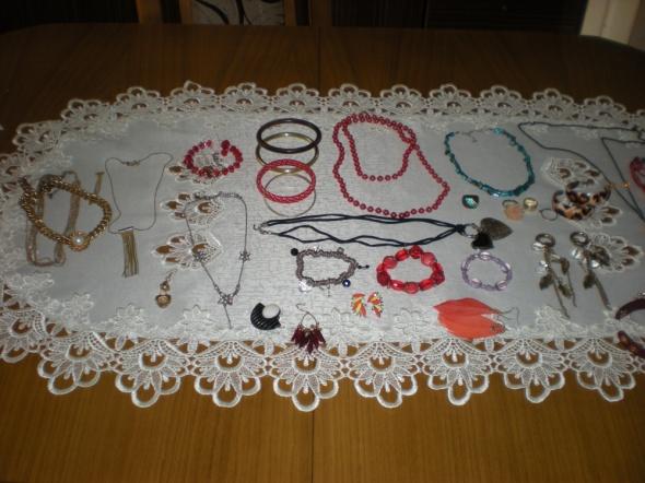 Pozostałe Zestaw starej biżuterii