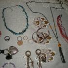 Zestaw starej biżuterii