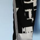 ONLY luźne spodnie S M baggy sport loose z paskiem na boku nogawki