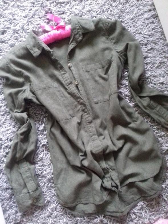 Koszula khaki 36 s