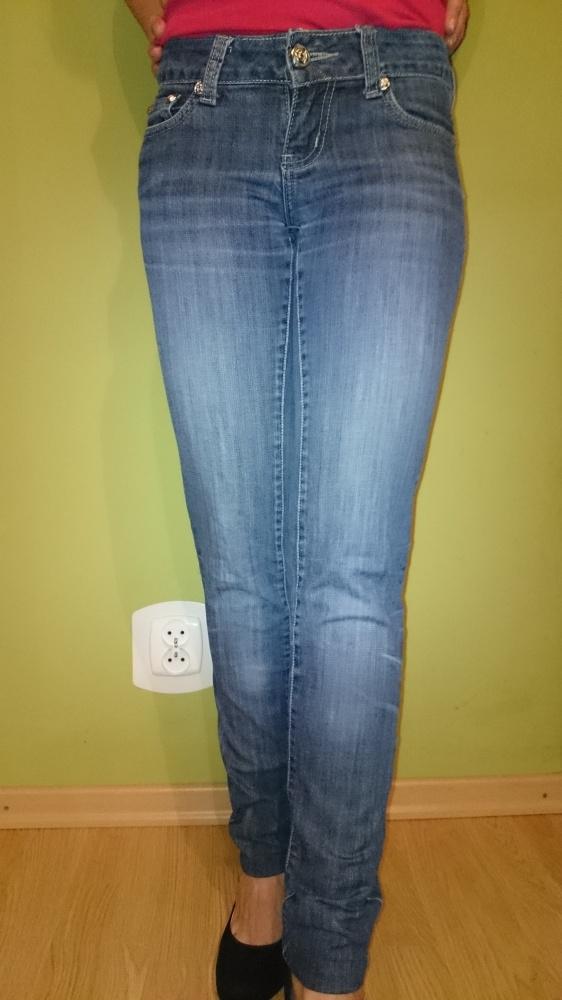 Spodnie jeansowe rurki Goodies...