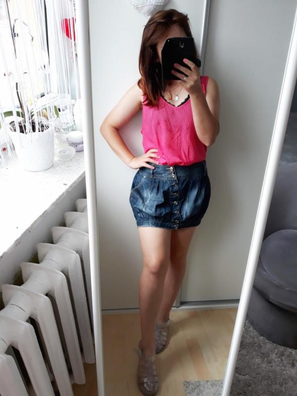 Spódnice Krótka jeansowa spódniczka