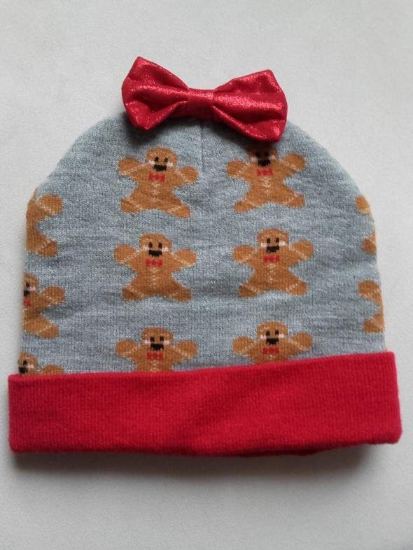 Clockhouse c&a Disney czapka damska w pierniczki jak nowa...