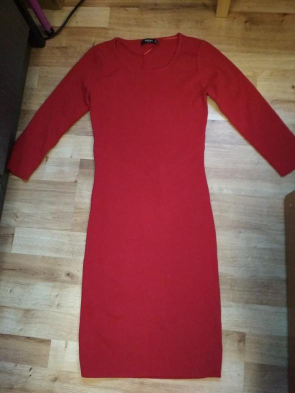 Nowa czerwona sukienka XS Mango...