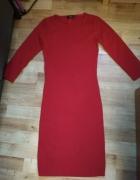 Nowa czerwona sukienka XS Mango