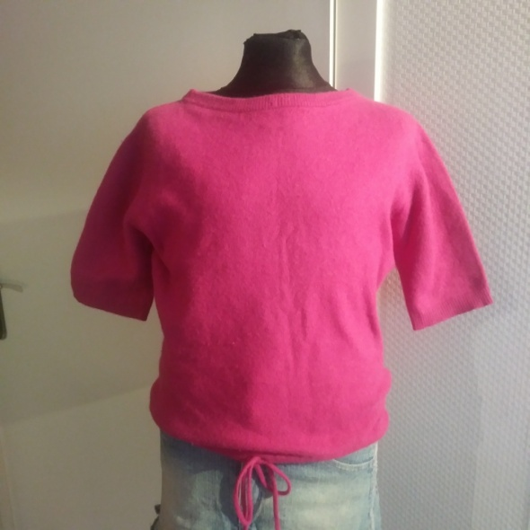 Bluzki różowa bluzka sweter 134 140 Esprit