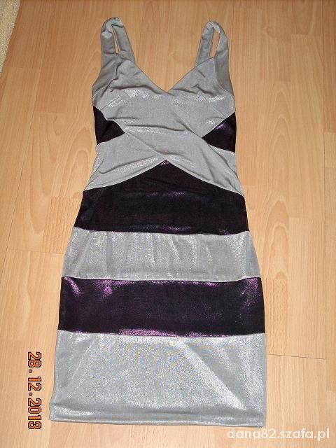 2w1 Sukienka bandażowa sm