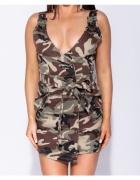 Parisian Asymetryczna Sukienka Moro Mini...